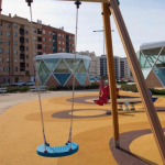PARQUE FELIPE VI. Parque infantil. LIF 2002. Octubre 2013