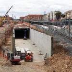 OBRAS. Túnel ferroviario desde Vara de Rey. LIF2002. Junio 2010