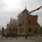 OBRAS. Demolición de la antigua estación. LIF2002. Agosto 2010
