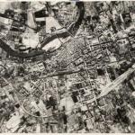FOTOGRAFÍAS ANTIGUAS. Vista aérea de Logroño. Anónimo. 1957.