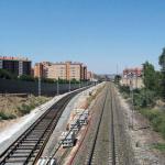 OBRAS. Montaje de las vías provisionales. 2008