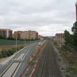 OBRAS. Asentamiento de las vías provisionales. 2008
