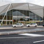 ESTACIÓN DE TREN. Fachada entrada principal. LIF2002. Diciembre 2011