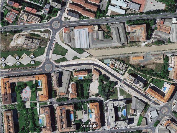Obras terminadas de conexión de las calles Piqueras y Piquete, diciembre 2015