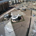 Obras de Fase 1, zona pasarela, 2012