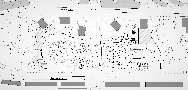 Conjunto arquitectónico de las Estaciones de Tren y de Autobuses