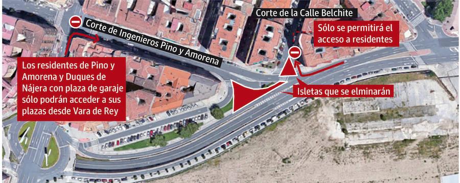 Inicio de las obras de urbanización en el entorno de Vara de Rey, fase 1