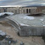 Imagen de las obras de la nueva estación de autobuses, enero 2019