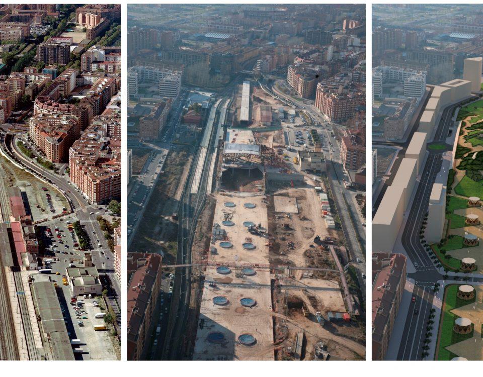 Antes, durante y después de las obras